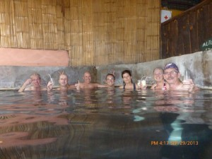 Nothing like a hot springs after riding!