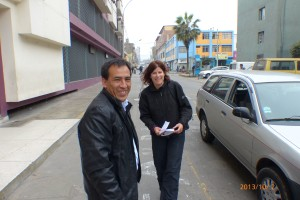 This is our Taxi driver who took there and back to the government building across town!