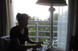 A very early morning blog posting....from Mexico!
