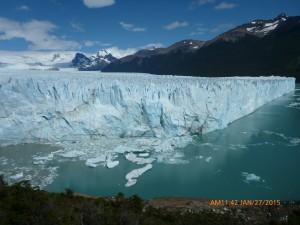 A very active Glacier
