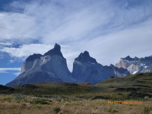 Breathtaking sights in Tores de Paine Nation Park, Chile